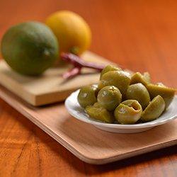 画像1: 味付けオリーブ 柚子胡椒